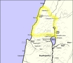 wJes.us Map 2 Outside Galilee
