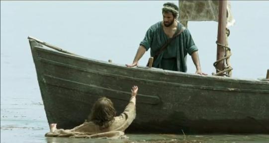 The Bible: Jesus meets Peter